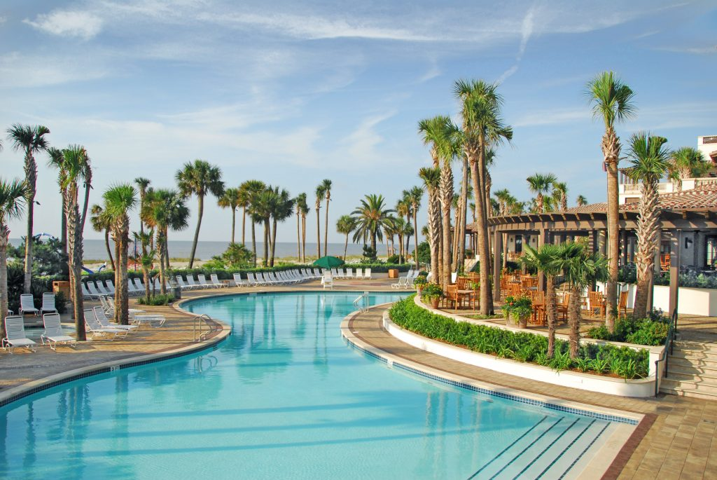 Sea Island Beach Club Pool