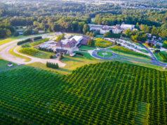 Chateau Elan aerial view
