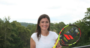 Amanda Newton, winner of the autographed Nadal racquet from Babolat.
