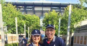 Holly Stroud and Bob Sinos