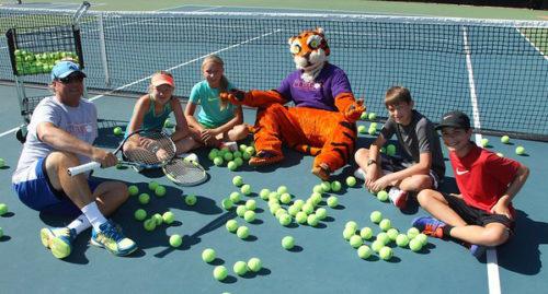 tiger tennis camp at clemson university