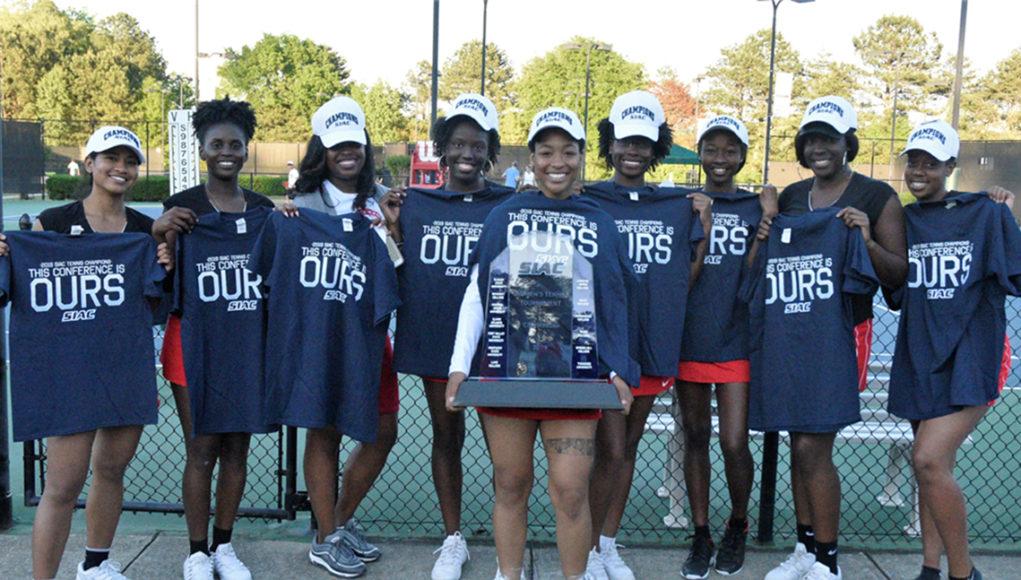 Clark Atlanta women's tennis team