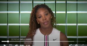 screen shot, serena williams