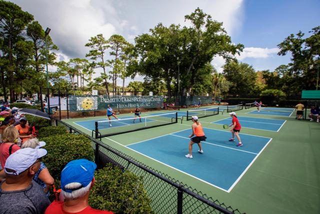 Palmetto Dunes pickleball courts