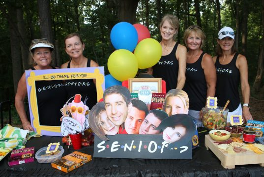 Senioritas Celebrate Long-Time Friendship