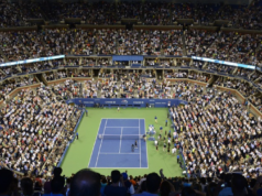 US Open center court