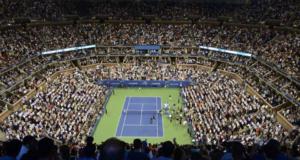 US Open center court