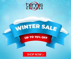 Tennis Express Winter Sale 2019 sidebar
