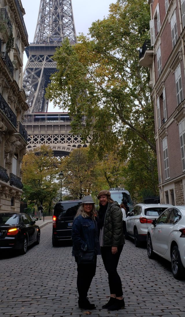 ALTA members Jamie Harlin and Abby Brunelle took a trip to Paris for the ATP Rolex Paris Masters. Here they are pictured in front of the Eiffel Tower.