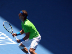 Rafael Nadal at the Australian Open