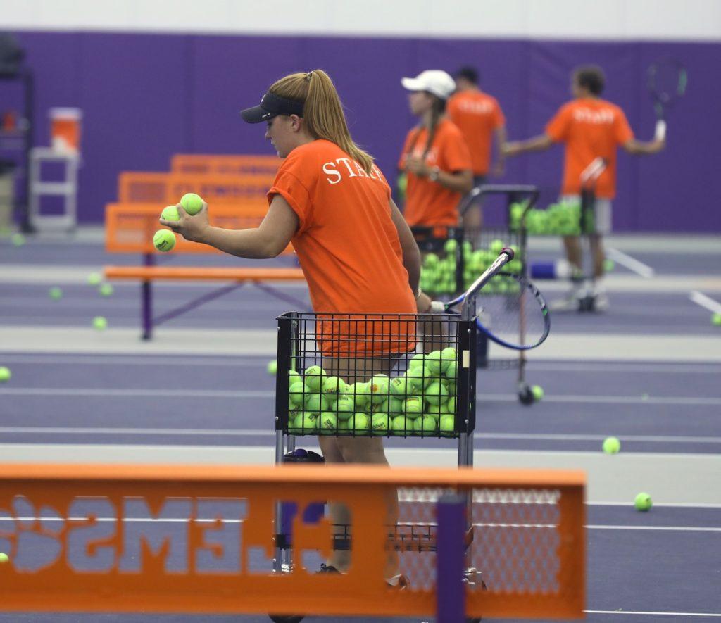Clemson tennis camp