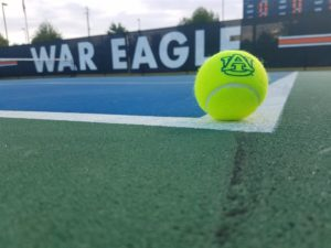 Auburn Tennis Ball and Court