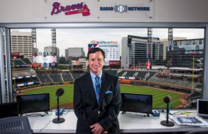 The Atlanta Braves celebrated the opening of the 5th Chipper Jones field dedication ceremony at Harrison Park on August 5, 2017 in Atlanta, Georgia. (Photo by Logan Riely/Beam/Atlanta Braves/Getty Images) *** Local Caption *** Don Sutton, Jim Powell