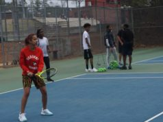 Osborne High School tennis players