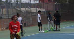 Osborne High School tennis players