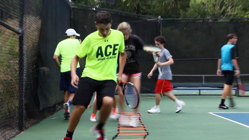 Ace Tennis Academy Sebass footwork