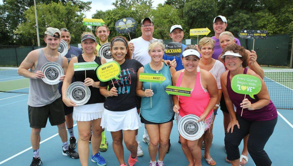 ALTA mixed doubles champions