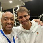 Nadal with ALTA member Lamar Scott