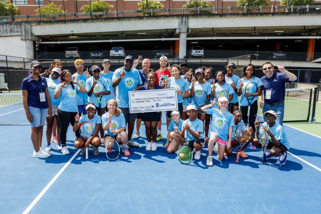 Scenes from the Truist Atlanta Open with members of the South Atlanta Community Tennis Association at Atlantic Station in Atlanta, GA. (Photo: Karl L. Moore/Mooreshots LLC)